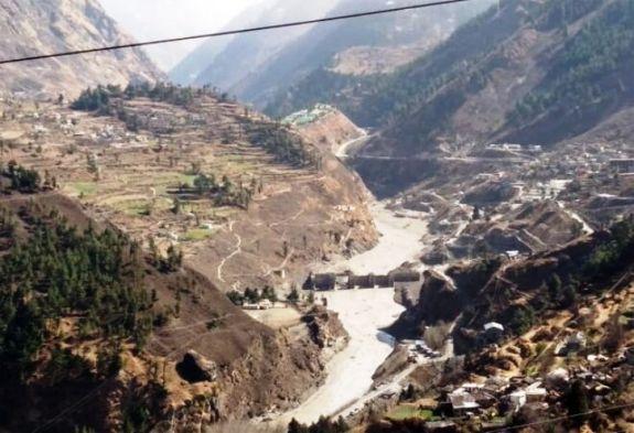gleccser szakadás észak india - krónika