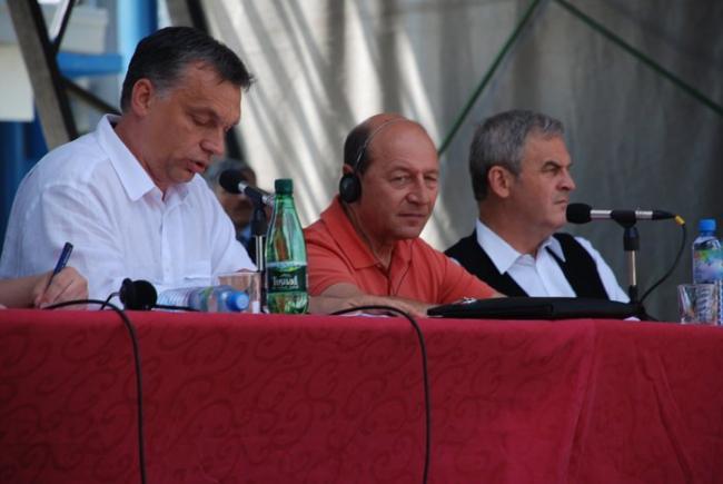 """Képtalálat a következőre: """"Basescu és Orbán Tusványoson-kép"""""""