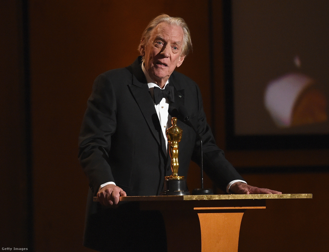 Donald Sutherland | Fotó: Kevin Winter/Getty Images Hungary
