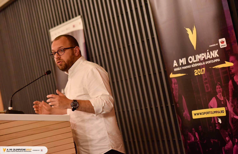 Porcsalmi Bálint, az RMDSZ ügyvezető elnöke
