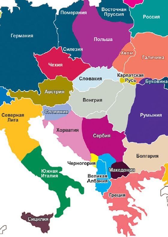 európa térkép magyarország Orosz amerikai terv: 2035 re új Európa térkép? európa térkép magyarország