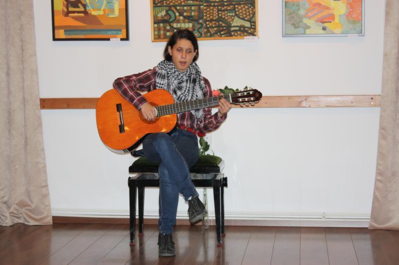 Dénes Gitta Réka, a kolozsvári Látássérültek és Gyengénlátók Líceuma diákja