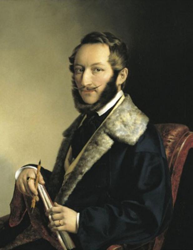 Önarckép, 1841
