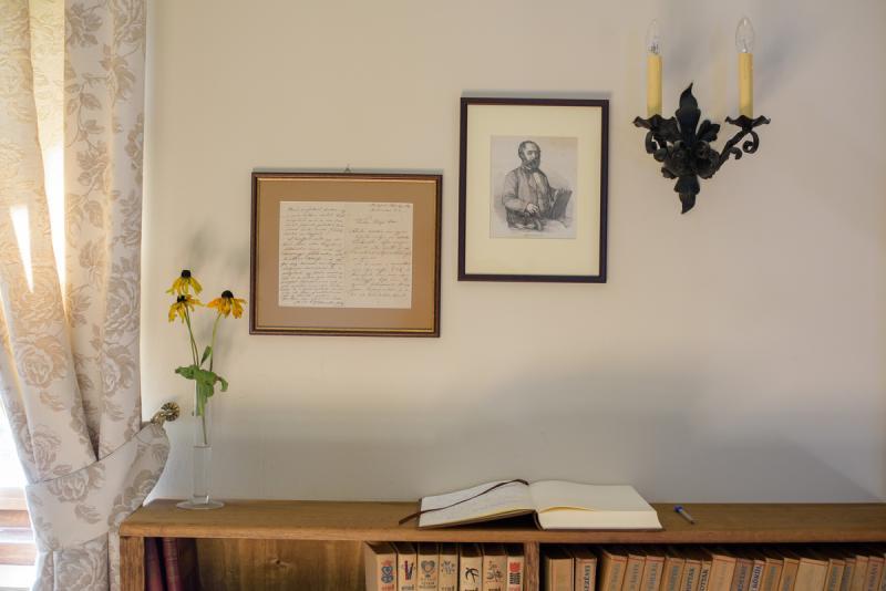 A dálnoki kúria, Barabás Miklós édesanyjának szülői háza őrzi a festő időskori levelét || Fotó: Biró István