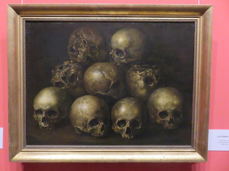 Gottfried Libalt Emberi koponyák (1660-as évek)