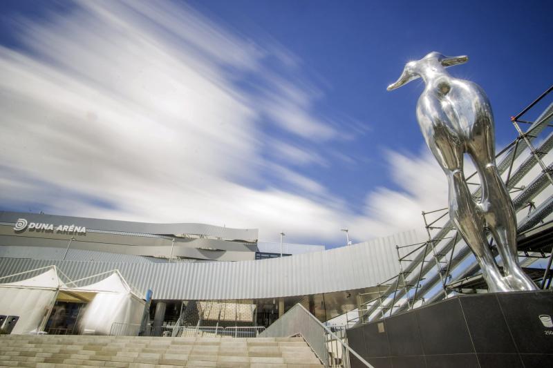 A 2017-es vizes világbajnokság központi budapesti létesítménye, a Duna Aréna