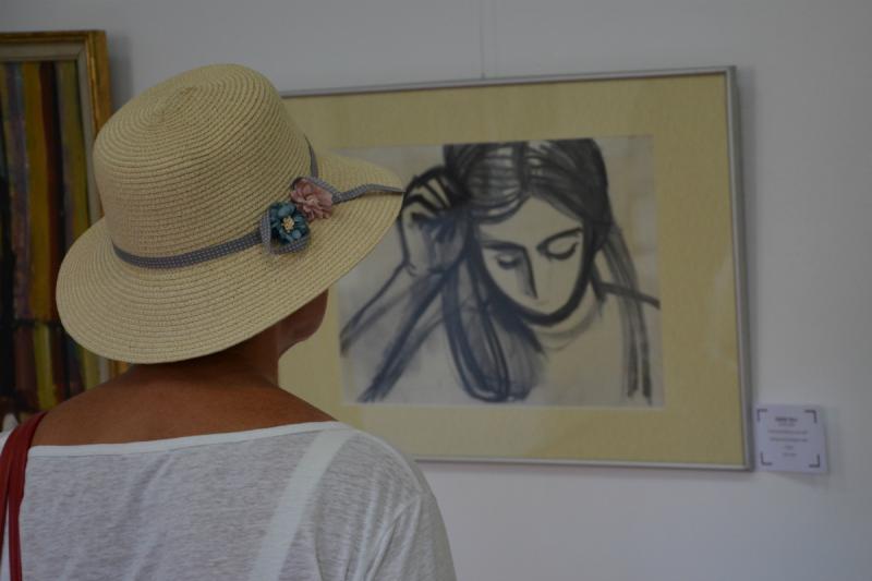 Kádár Tibor: Leányka portré (A lányom, Kati)