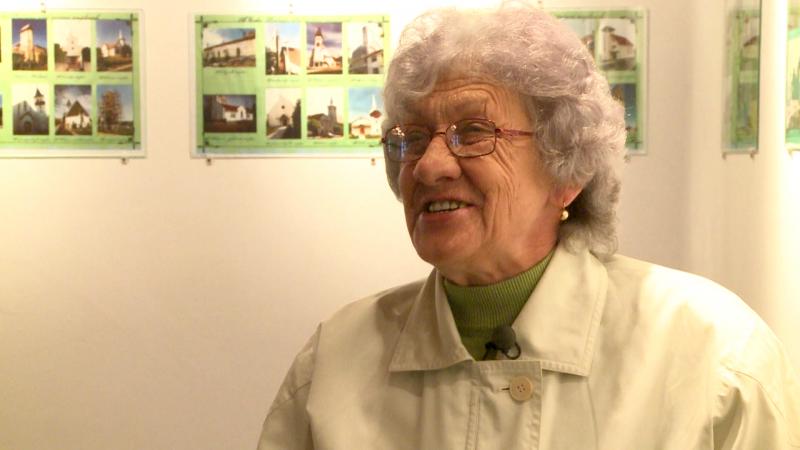Csorba Teréz nyugalmazott tanárnő, a legjobb ismerője az érsemjéni híres magyarok életútjának