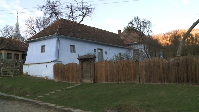 Bözödi György szülőháza az utcáról nézve
