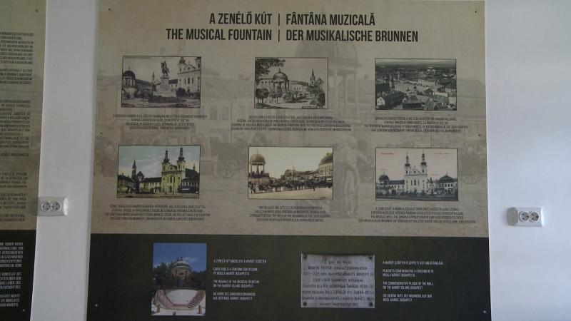 A zenélő kút története a Rhédey-kastély Bodor Péter-emlékszobájában