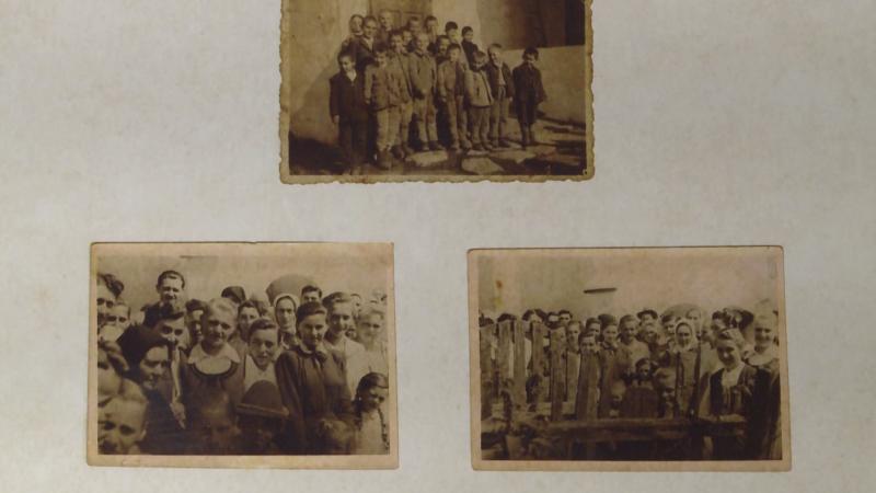 Egykori bözödújfalusiak megsárgult képeken