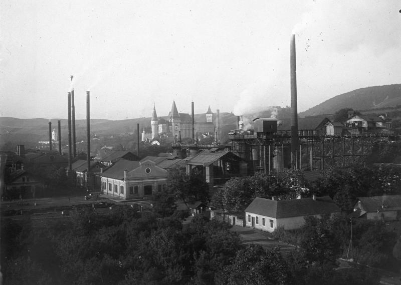 A királyi vasgyár kéményei