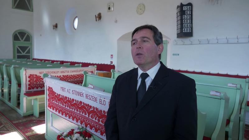Zargó János református lekipásztor, Hunyad megye esperese