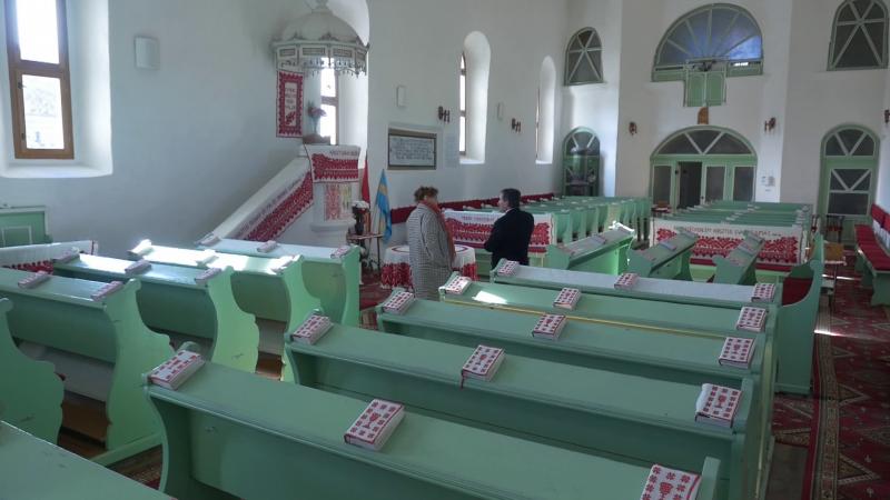 Református templombelső