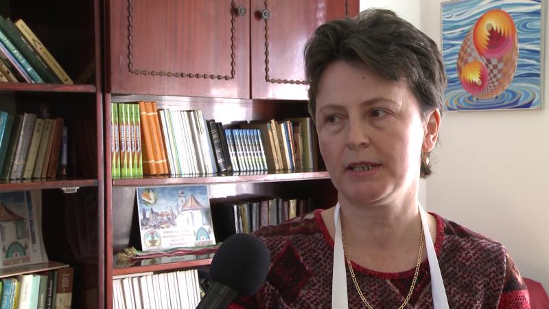 Zsargó Mária, tiszteletes asszony, a református nőszövetség tevékenységének fáradhatatlan irányítója