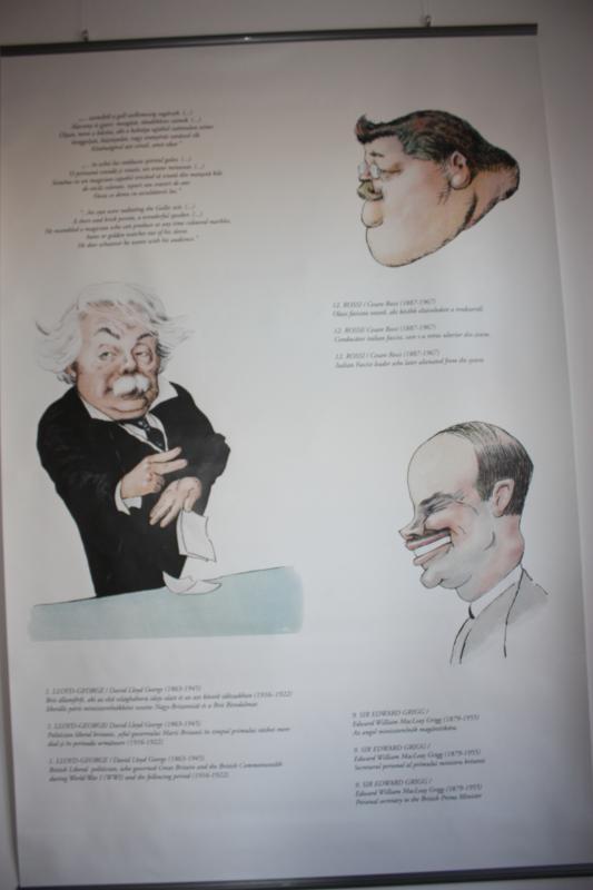 Ezek a rajzok bizonyítják, hogy Bánffy Miklós kiváló karikaturista volt.